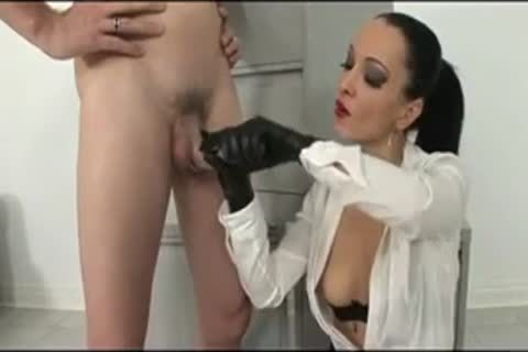 Latex three-some With Miss Jet