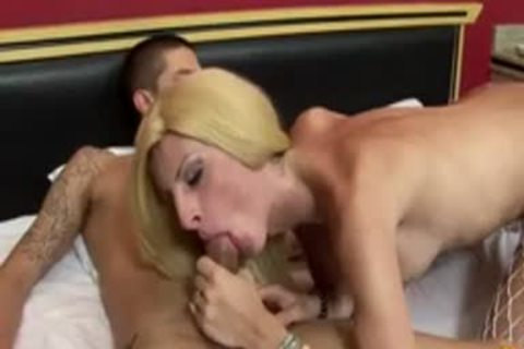 Is movie, you'll Be Watching A excited blond tranny