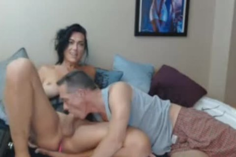 large boobs shemale Does lusty oral With Sugar Daddy