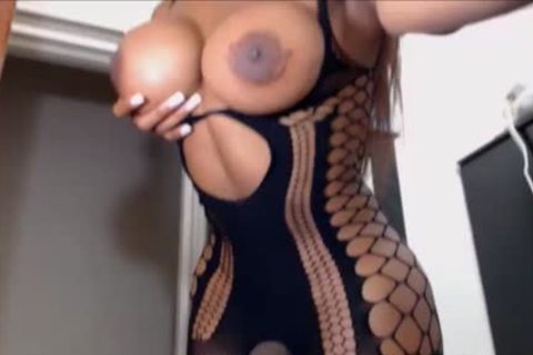 Hung black Transwoman Jacking Off