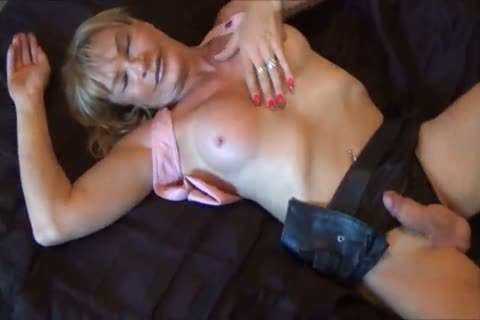 hooker Leather shemale engulf BBC With Rosebud In butthole bawdy cleft