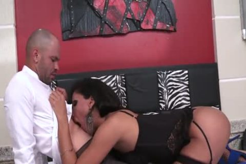 Breasty Latin Ts Jhoany Wilker gets assfucked