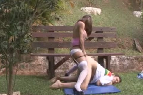 Super Compilaton  trannies bonks lad And Cums Inside With pound-rubber 003