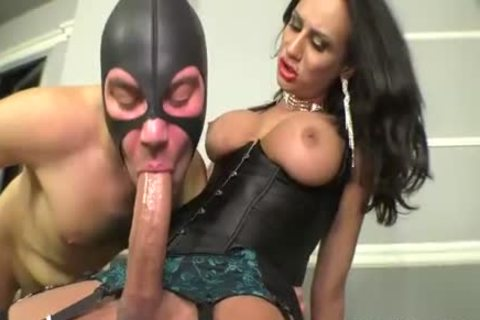 mistress Subdues The bondman With Her biggest dick