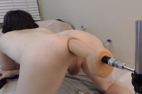 lengthy poke Machine cam Session With big toy