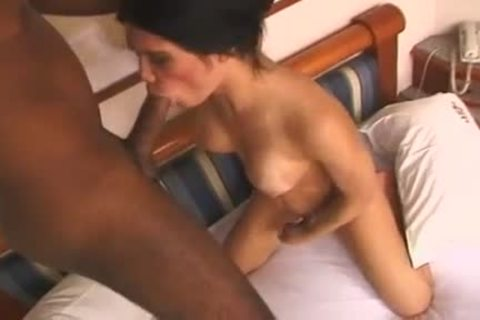 wild T-beauty Luana Lethuan  With nice Jug receives Her Face And butthole pounded With big Tool Of Her darksome-skinned lover