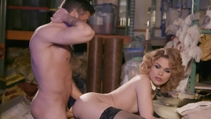 TransAngels - Raw sex with muscle Alisia Rae plus Lance Hart