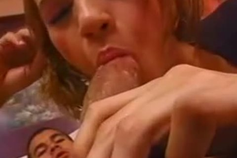 Interracial Love With A busty tgirl
