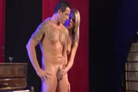 heavy cumshot After Mutual painfully With A Blond Vamp