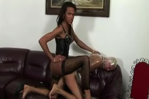 Fetish Domination action On A Floor