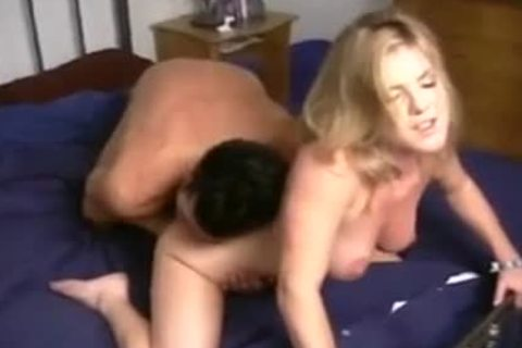 Billy Glide acquires awesome teat Play And Rimjob