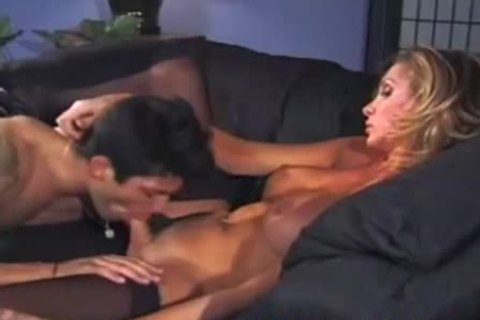 wicked blond sheboy Spanked And pounded