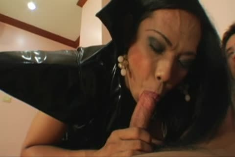 oriental ladyman Ho Getting Her arsehole slammed And Chest Creamed