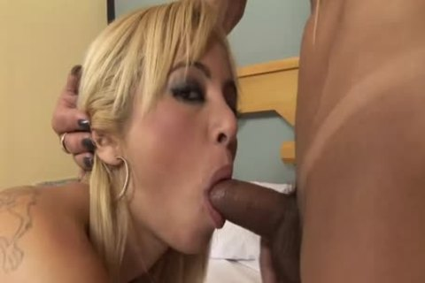 The tranny bonks A Petite And tasty blonde