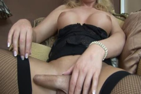 Alison Dale Is A greater amount old shemale Watch Her wank