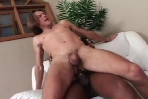 Painful anal From A gigantic darksome lady-lad penis